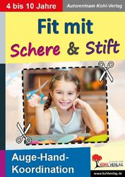 Fit mit Schere & Stift