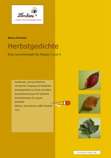 Herbstgedichte Lernwerkstatt Fur Klasse 3 4 Inkl Cd Rom